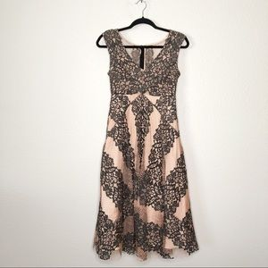 Anthropologie Tracy Reese Spliced Frock Lace Dress